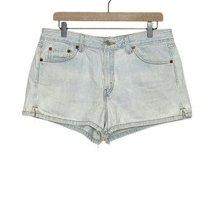 Levi's VTG 90s Light Wash High Rise Jean Shorts